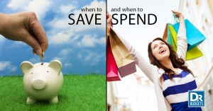 When To Save and Spend
