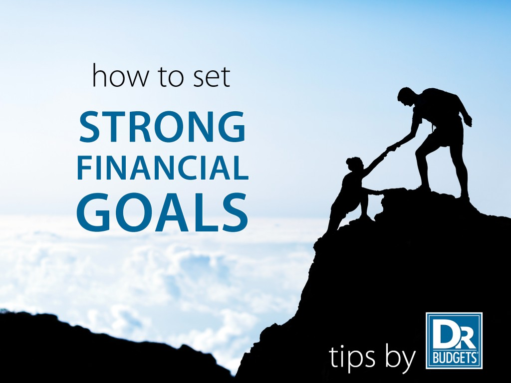 Strong Financial Goals