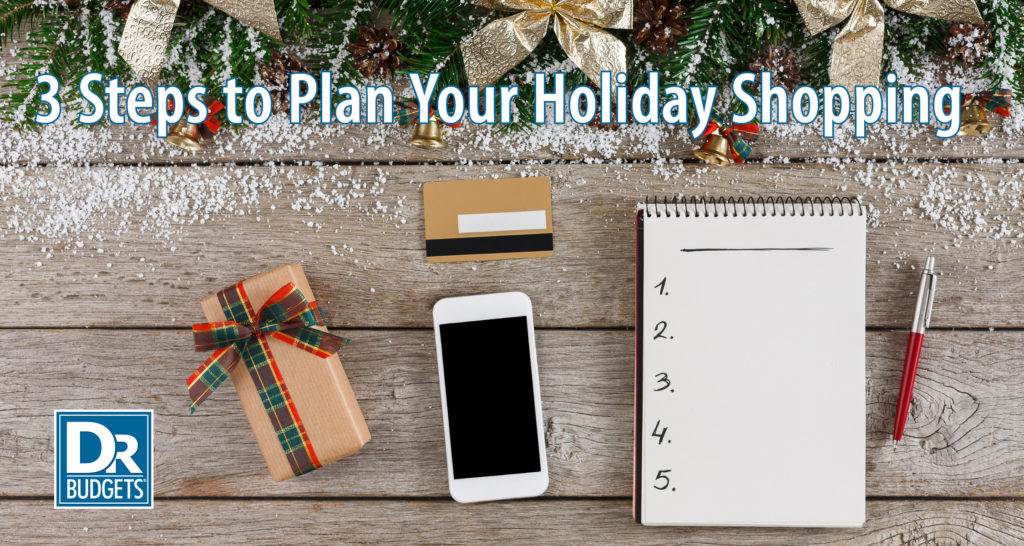 3 Steps to Plan Your Holiday Spending