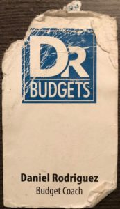 Old Dr. Budgets Business Card