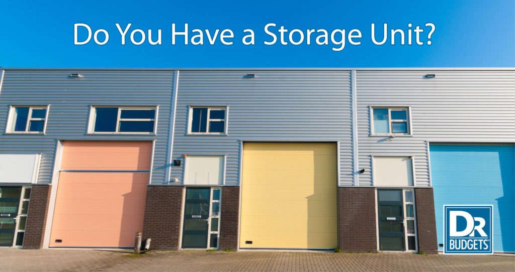 Do You Have a Storage Unit?